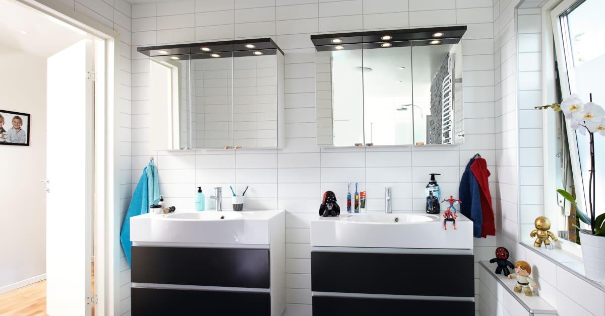 Skånska byggvaror badrumsinredning   bilder & videor