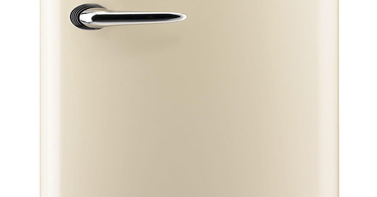 gorenje retro collection k leskab champagne gorenje. Black Bedroom Furniture Sets. Home Design Ideas