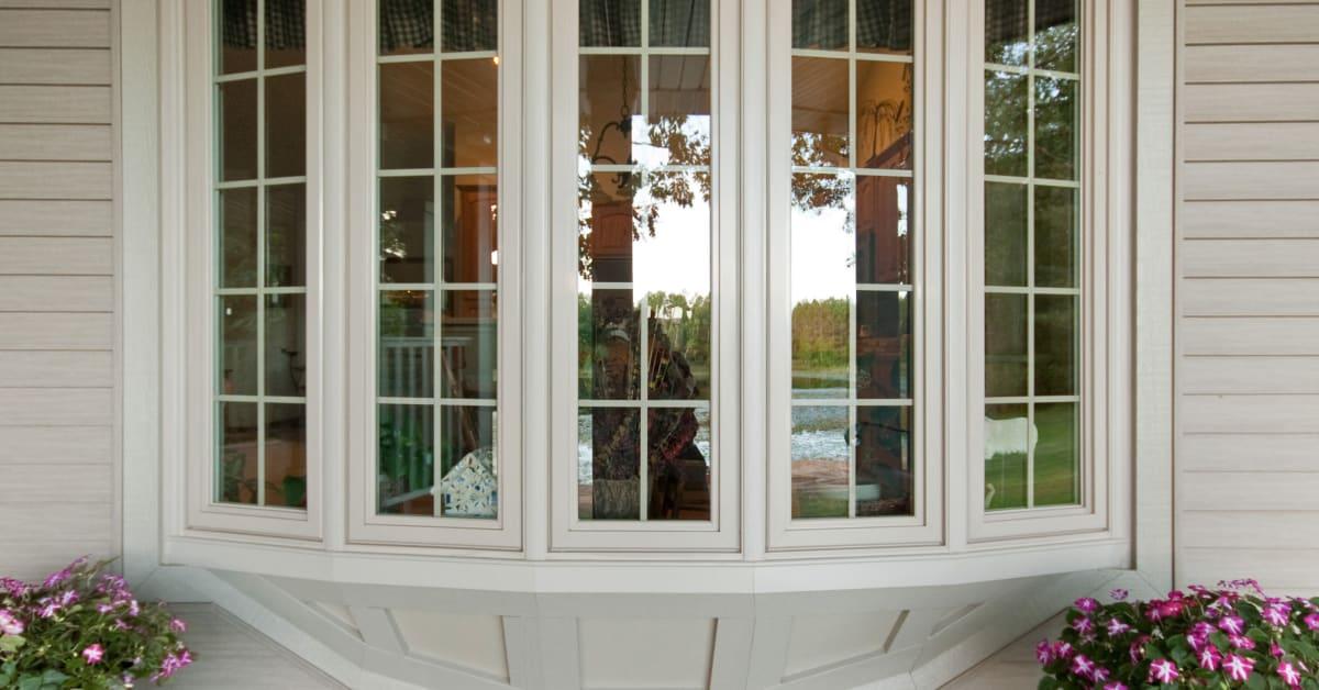 Simonton Vinyl Windows : Simonton bow window windows inc