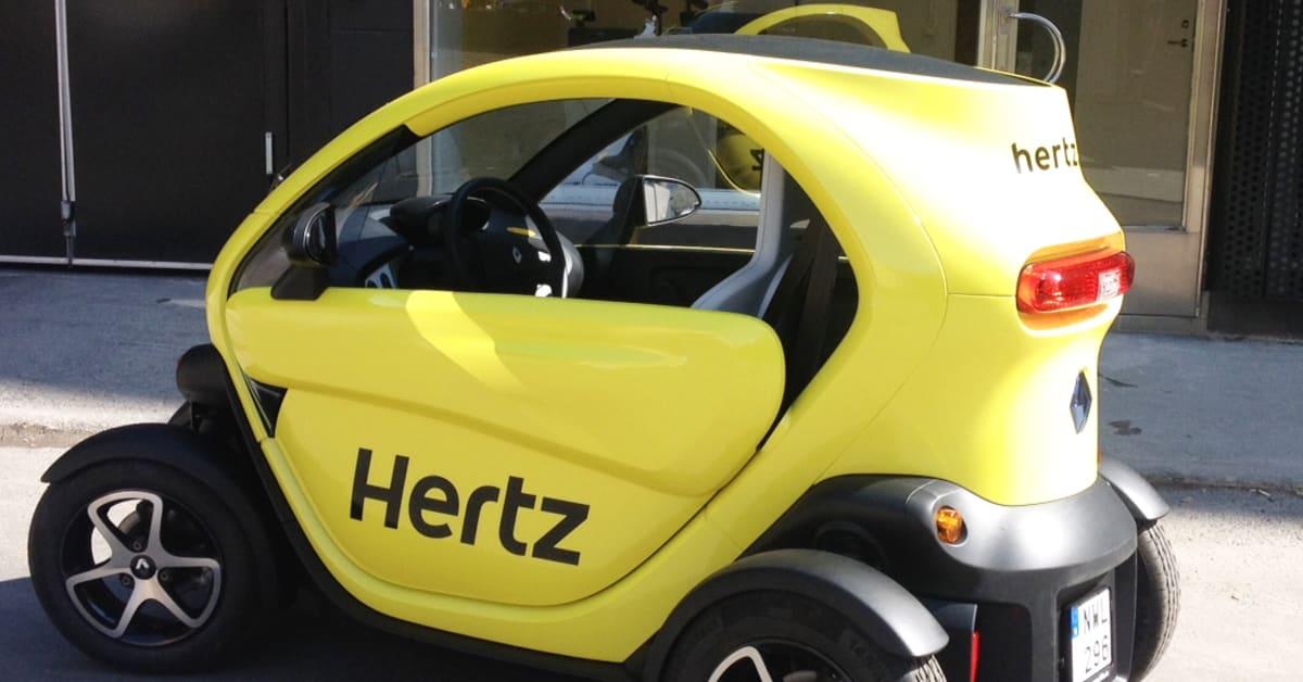 Renault Twizy: Hyr Renault Twizy Hos Hertz I Sommar