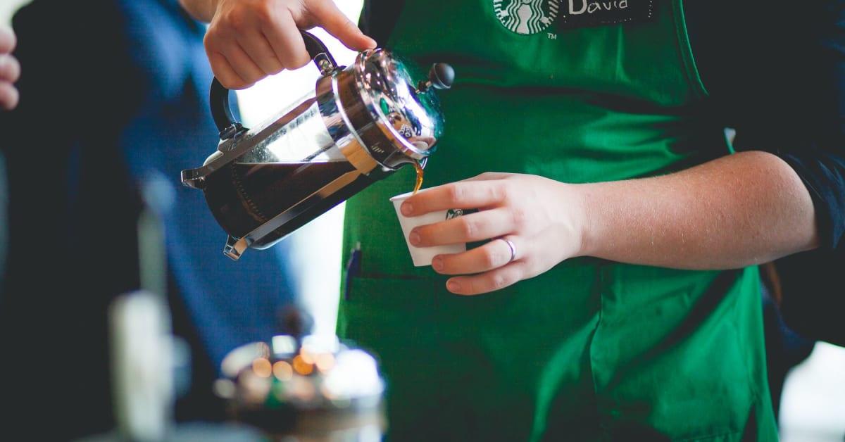 Starbucks kaffebønner