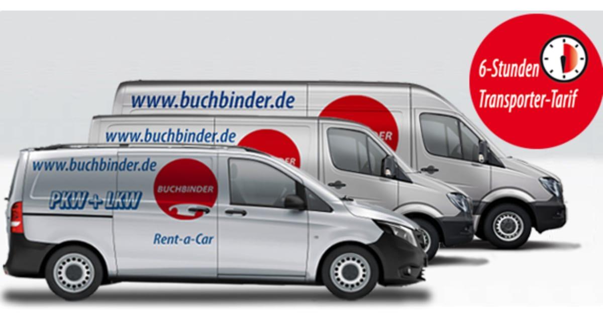 jetzt buchbinder rent a car transporter ab 3 75 euro pro. Black Bedroom Furniture Sets. Home Design Ideas