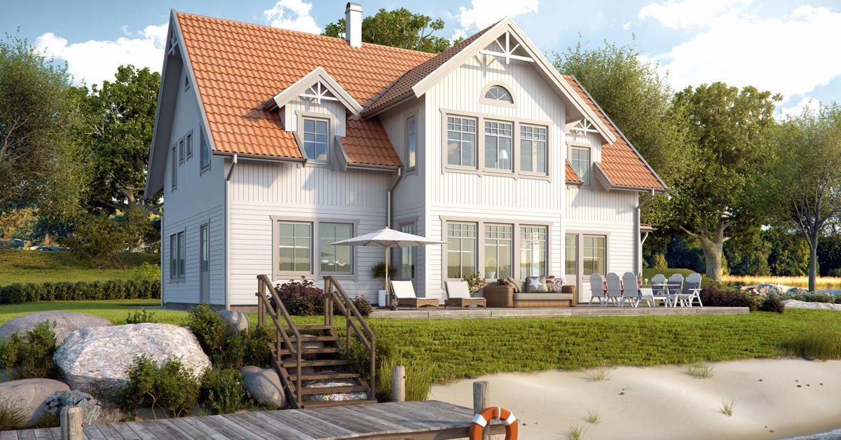 Fiskarhedenvillan nytt hus   senaste nytt