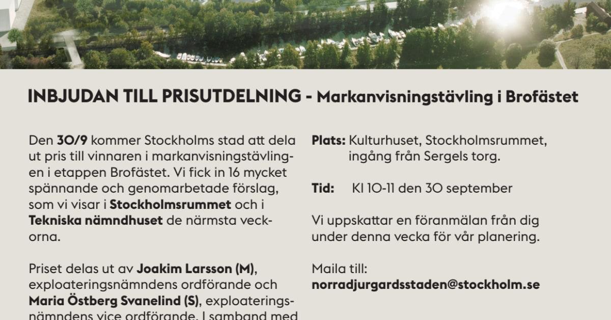 brofästet norra djurgårdsstaden stockholmshem