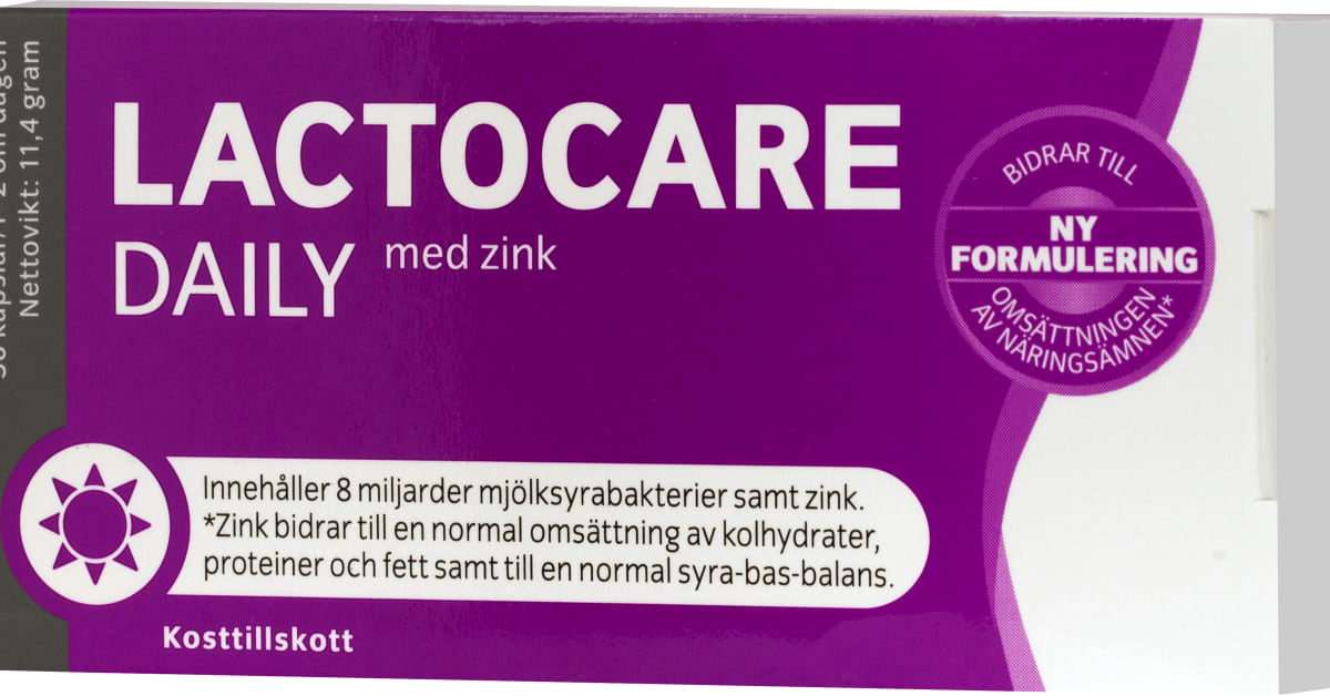 lactocare daily zink