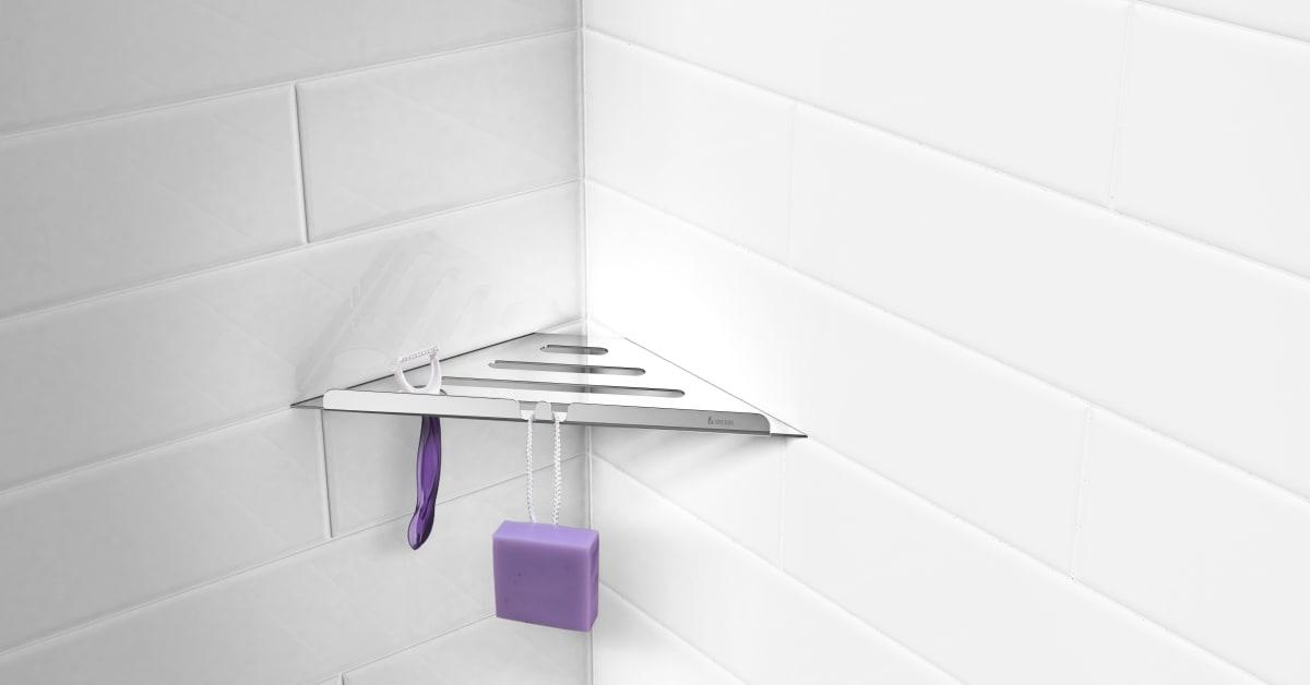 Buztic com hylla badrum utan att borra ~ Design Inspiration für die neueste Wohnkultur