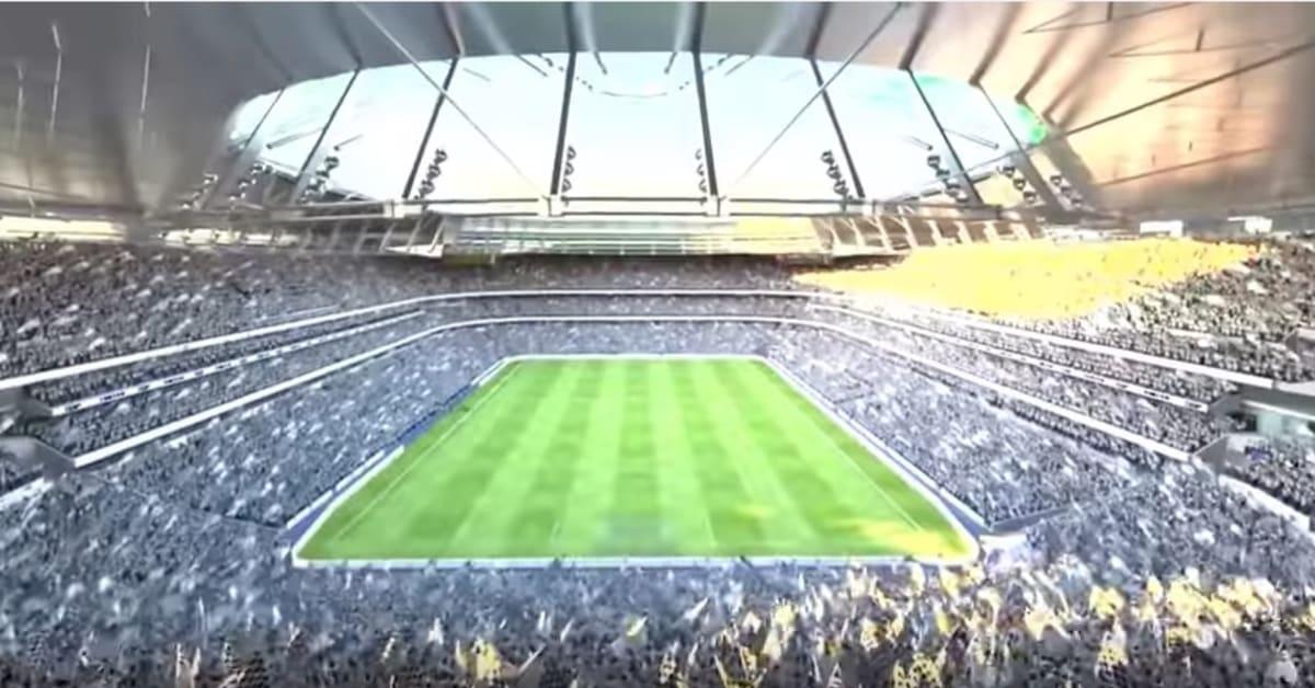 Tottenham Release Video Of Stunning New Stadium Uk