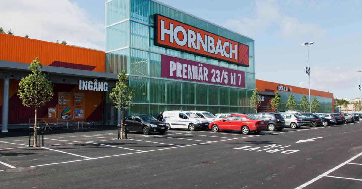 nu ppnar hornbach i sundbyberg hornbach. Black Bedroom Furniture Sets. Home Design Ideas