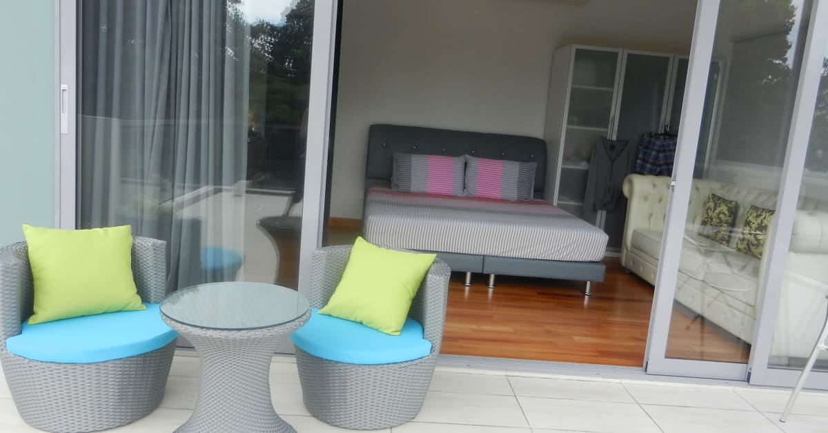 Transforming your balcony to Alfresco living today HAUS