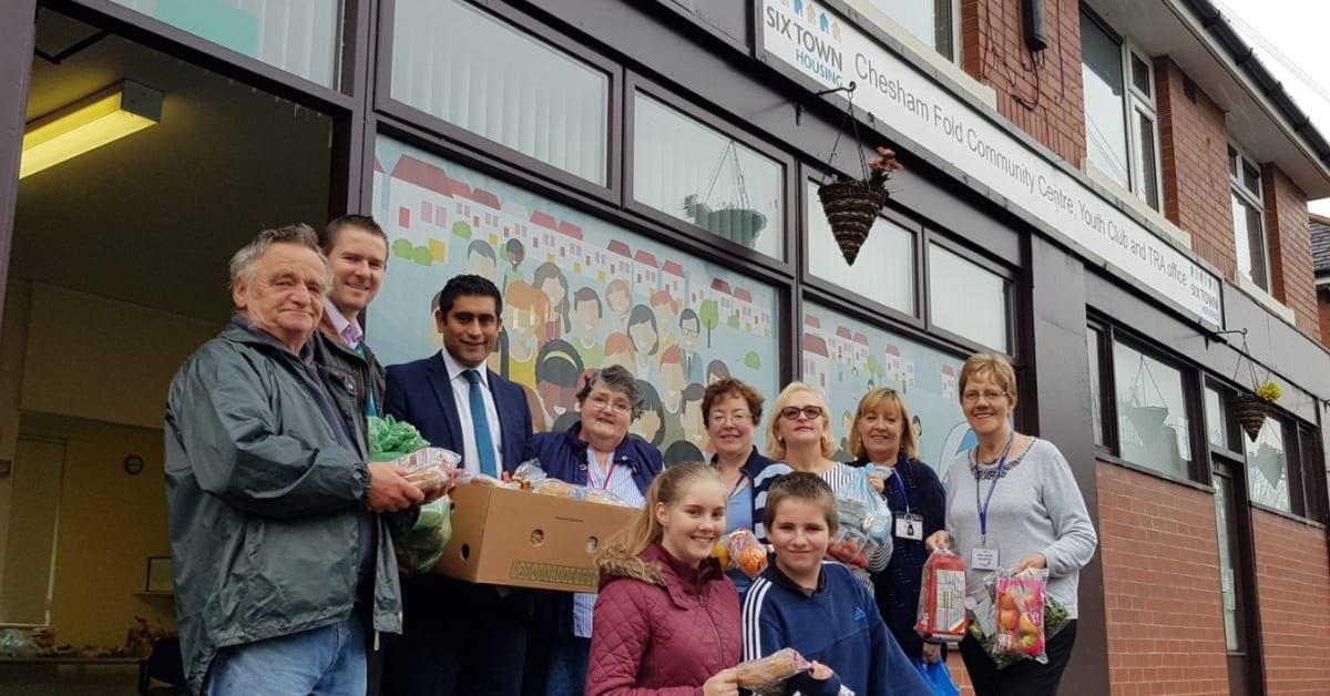 Bury Council Food Bank