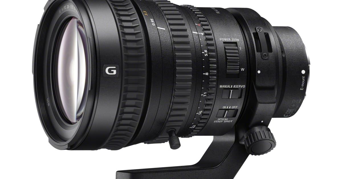 Sony presenta el primer objetivo de fotograma completo de 35 mm ...