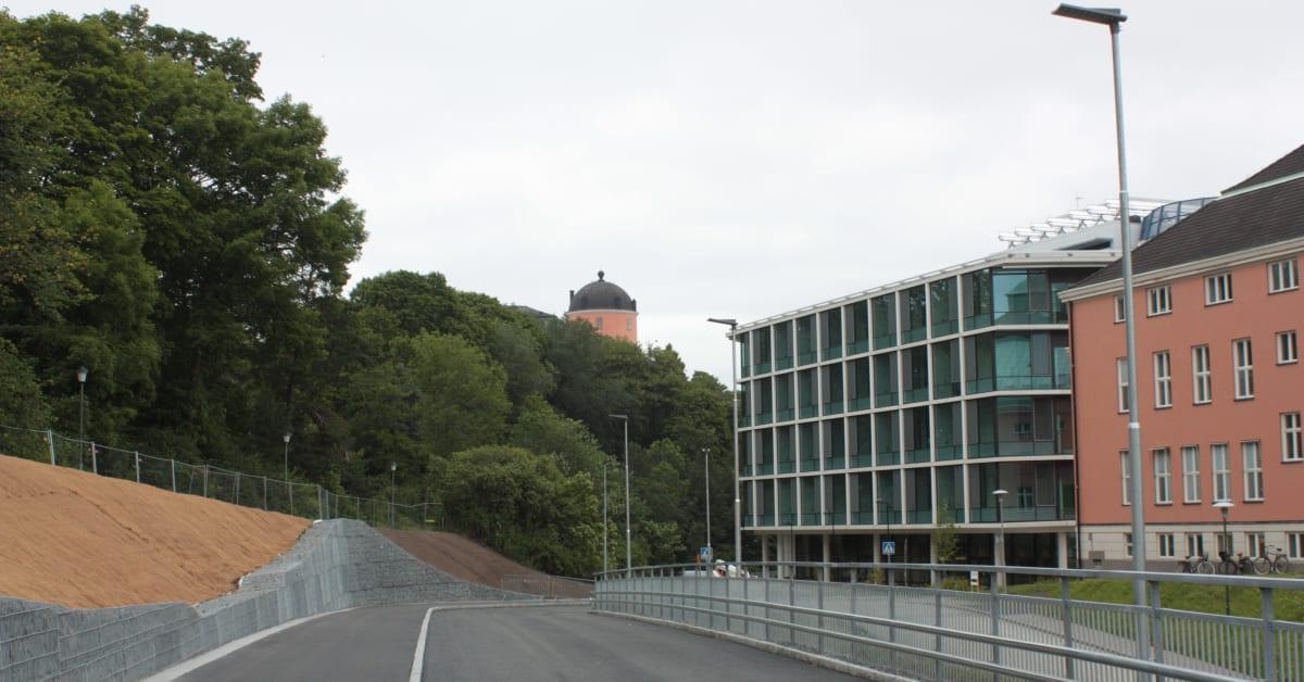 #865F45 Meget bedømt Ny Väg På Akademiska Sjukhuset Invigdes 3 Juni Region Uppsala Gør Det Selv Ny Væg 5819 204813655819