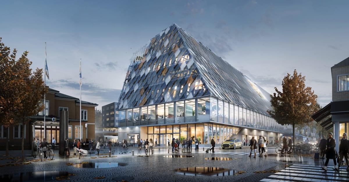 White Arkitekter Ritar V 228 Xj 246 S Nya Stads Och Stationshus