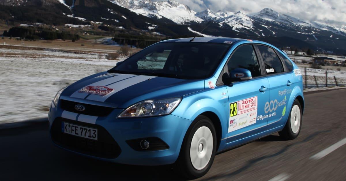 Trippelseger f r ford i monte carlo rallyt f r milj bilar Ford motor company press release