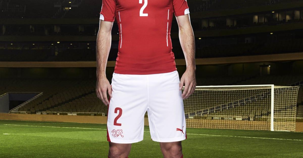 pick up 14e3e f2a70 PUMA INTRODUCES SWISS NATIONAL KITS FOR THE 2014 FIFA WORLD ...