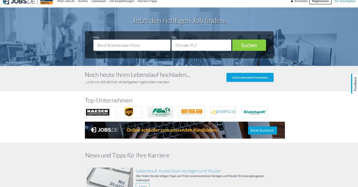 JobScout24 ist zurück: Jobs.de ab sofort mit Zwei-Marken-Strategie ...