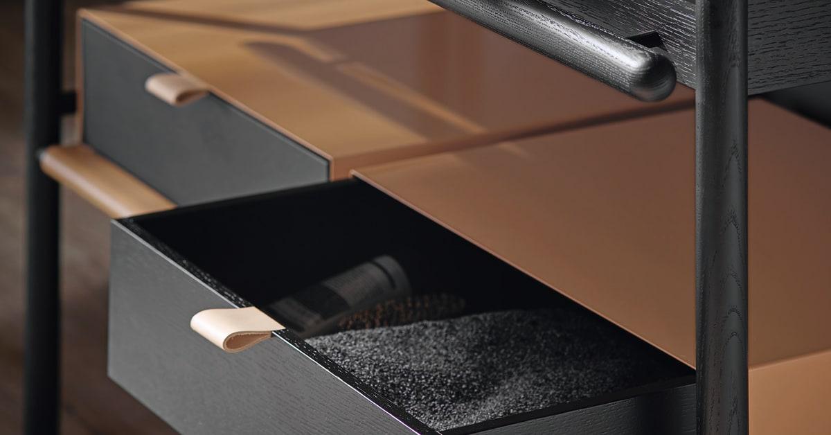 die neue badm belkollektion mya von burgbad interpretiert. Black Bedroom Furniture Sets. Home Design Ideas