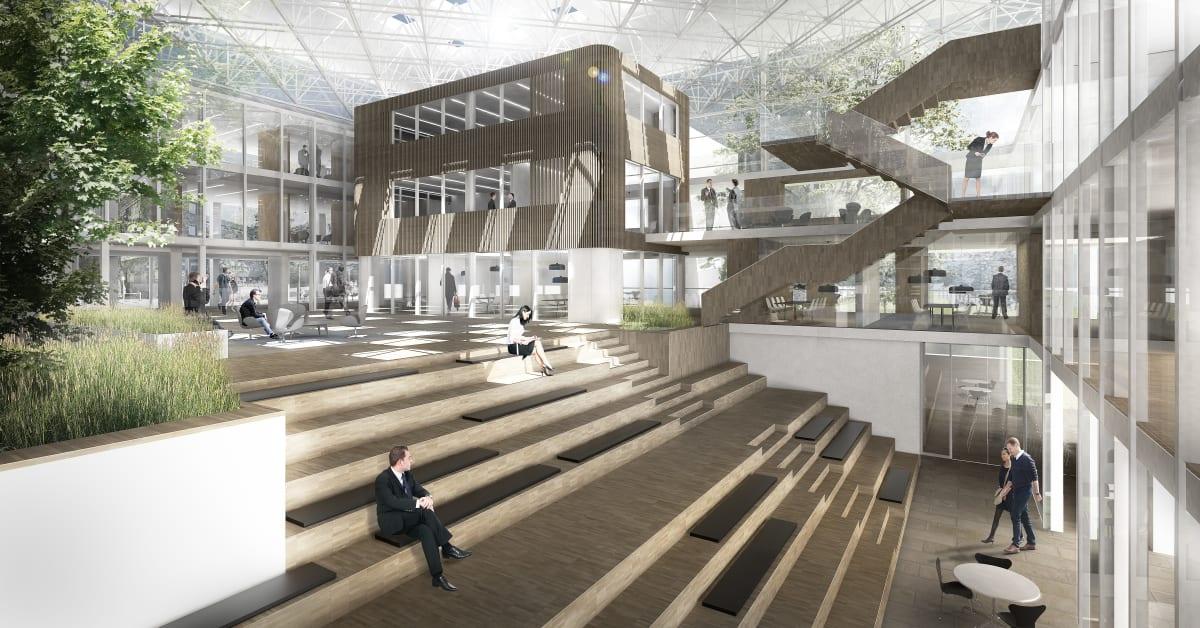 Tredje Danske Bank på tegnebrættet hos Arkitema - Arkitema Architects