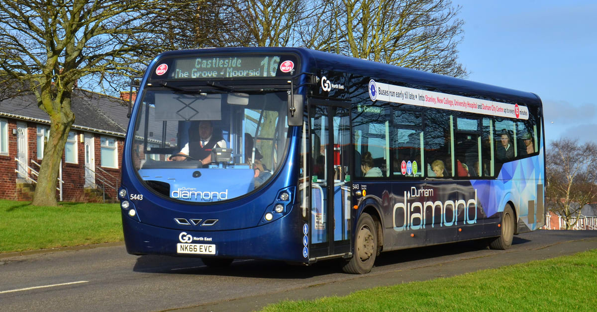 163 1 6m Investment In New Buses For Durham Diamond Go