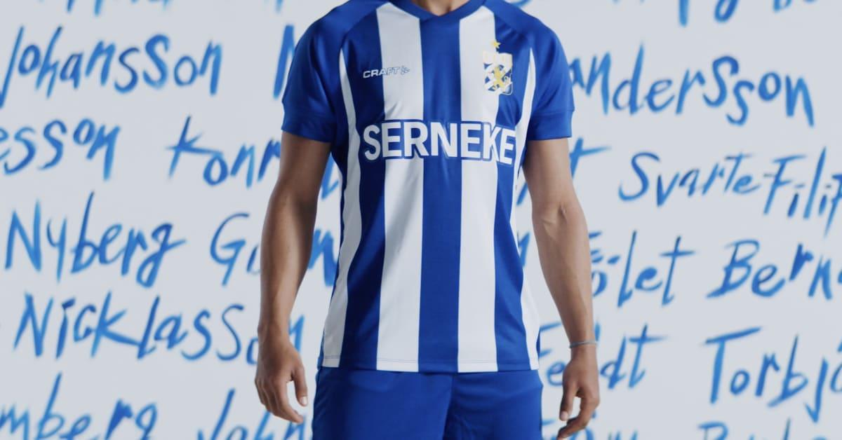 Crafts nya matchtröja för IFK-Göteborg är här.