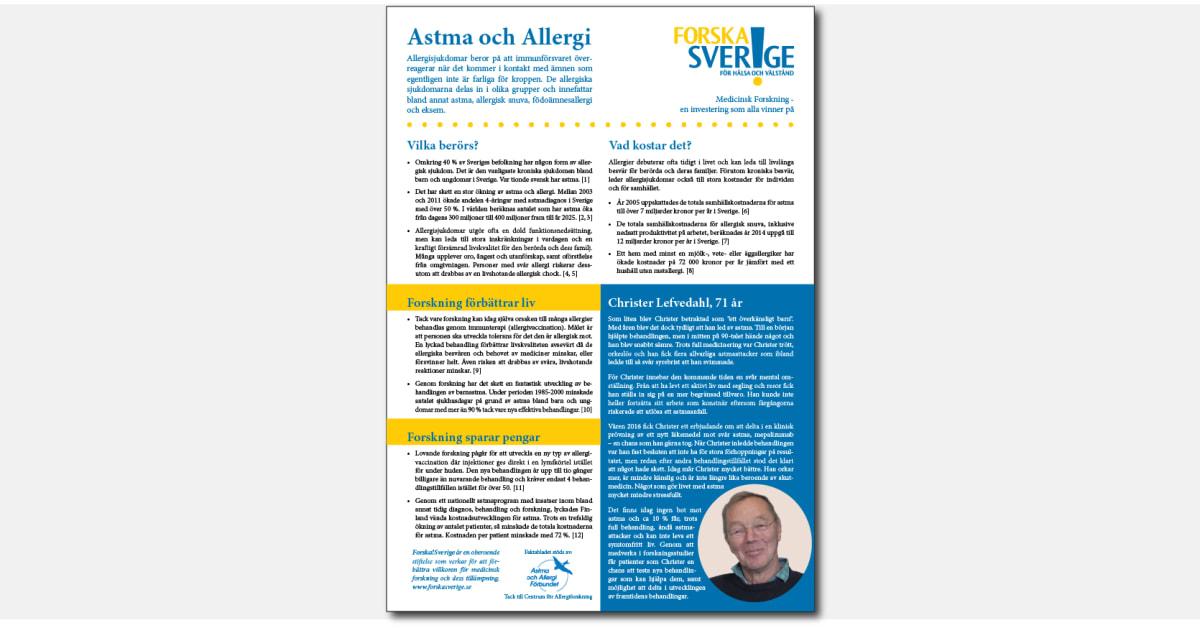 Pengar att spara for allergiker