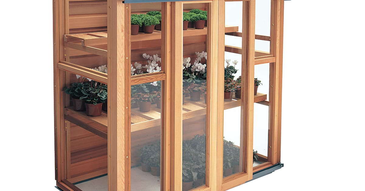 Växthus För Balkong : Odlingsskåp för den lilla balkongen vansta trädgård ab
