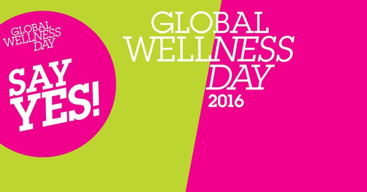 GLOBAL WELLNESS DAY 2016: Internationaler Tag der Wellness-Bewegung