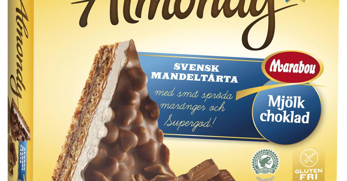 Almondy marängtårta med Marabou Mjölkchoklad - Almondy AB Almondy Ab