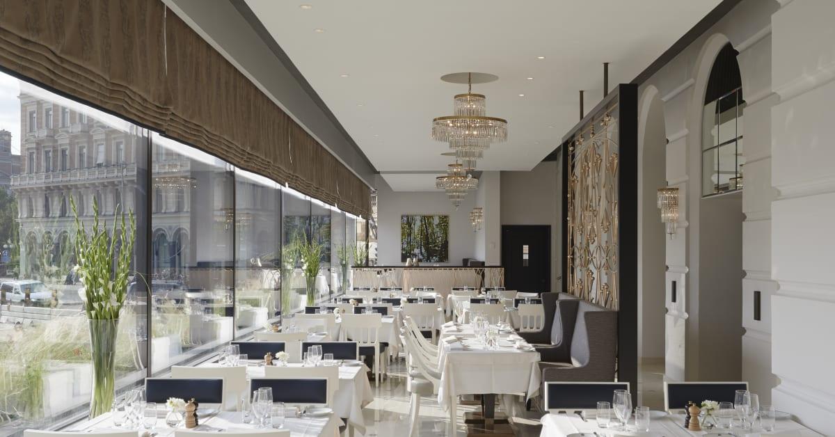 Nya verandan på grand hôtel   en klassisk matupplevelse i ...