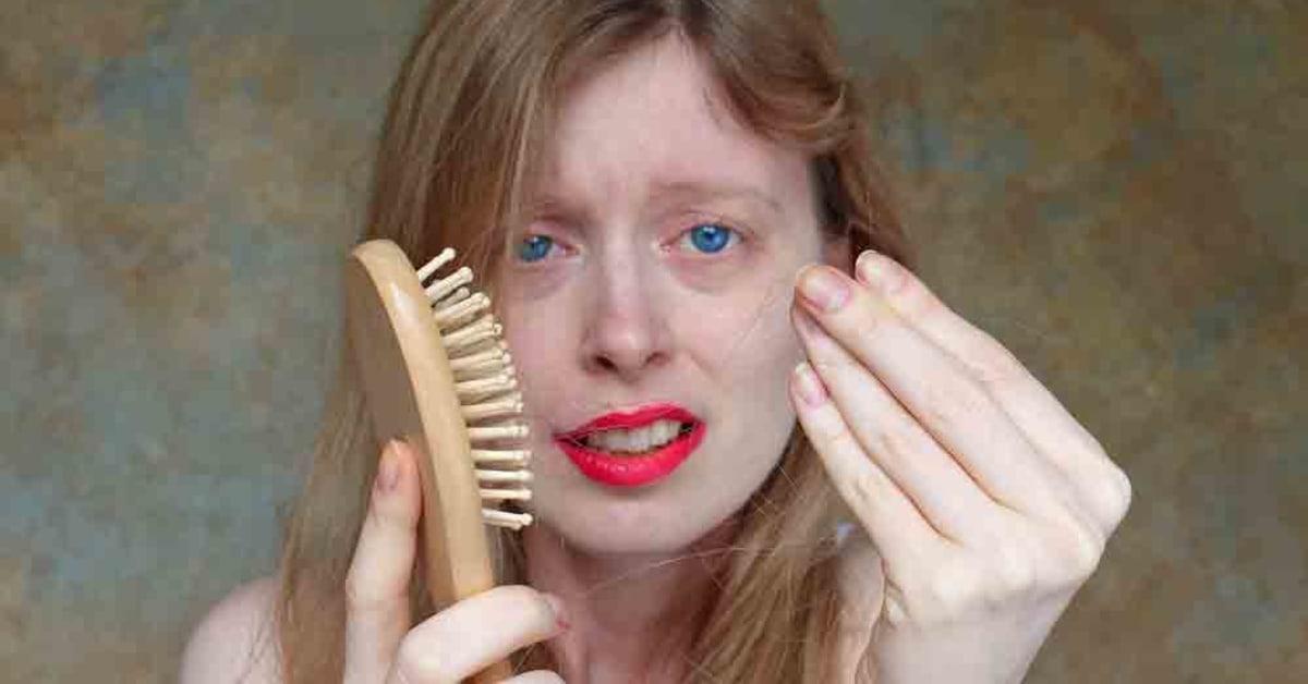 tappa hår av p piller