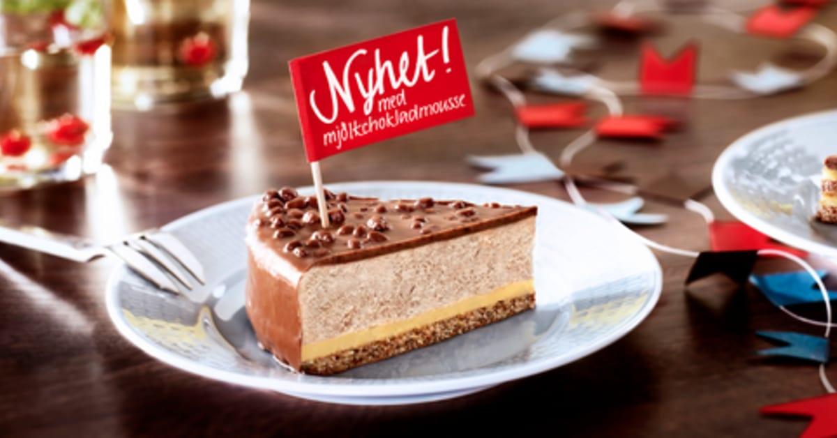 Almondys mest älskade tårta får en utmanare - Daimtårta ... Almondy Ab