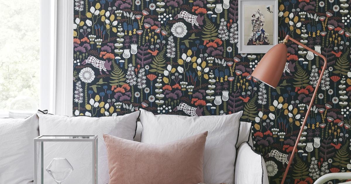 bor stapeter g r ny sagolik tapetkollektion med hanna werning bor stapeter. Black Bedroom Furniture Sets. Home Design Ideas