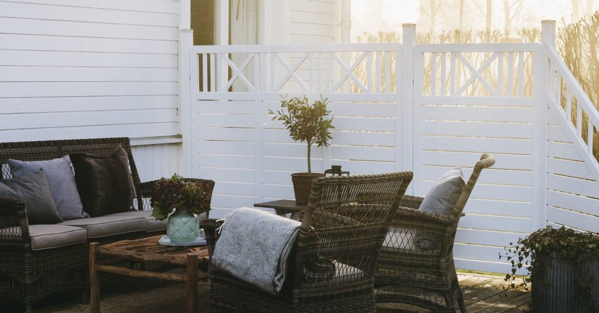 Trädgårdsoaser med tydliga linjer   nordic room improvement