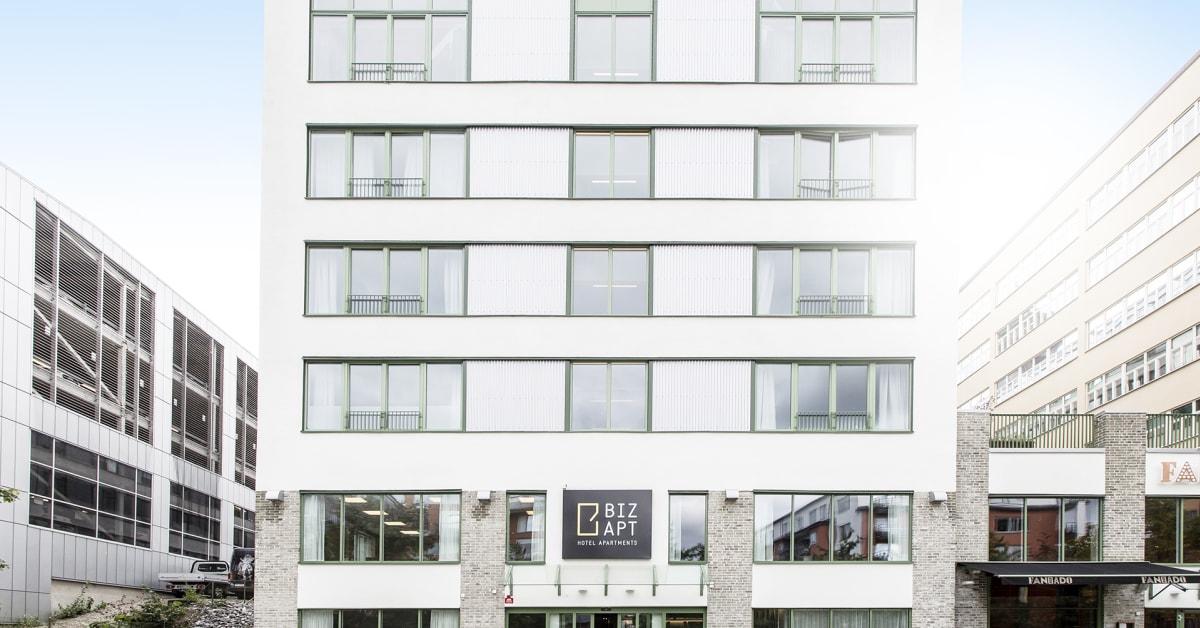 hammarby sjöstad biz apartment