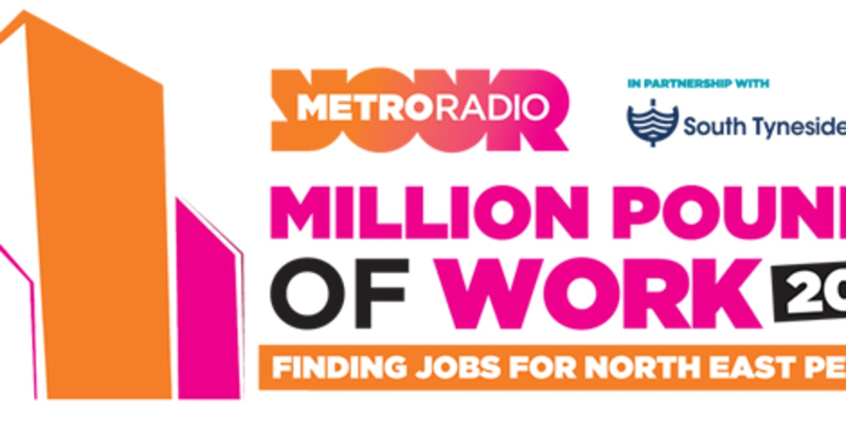 Supporting Metro Radio's Million Pounds of Work Campaign - Go North East