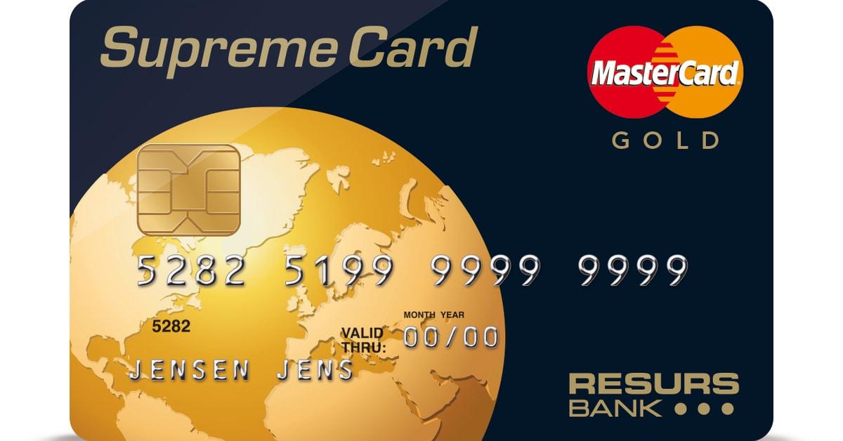 resurs bank supreme card