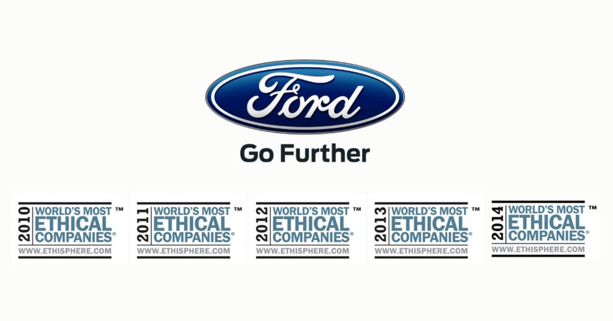 Ford I Den Etiske Superliga Ford Motor Company: ford motor company press release