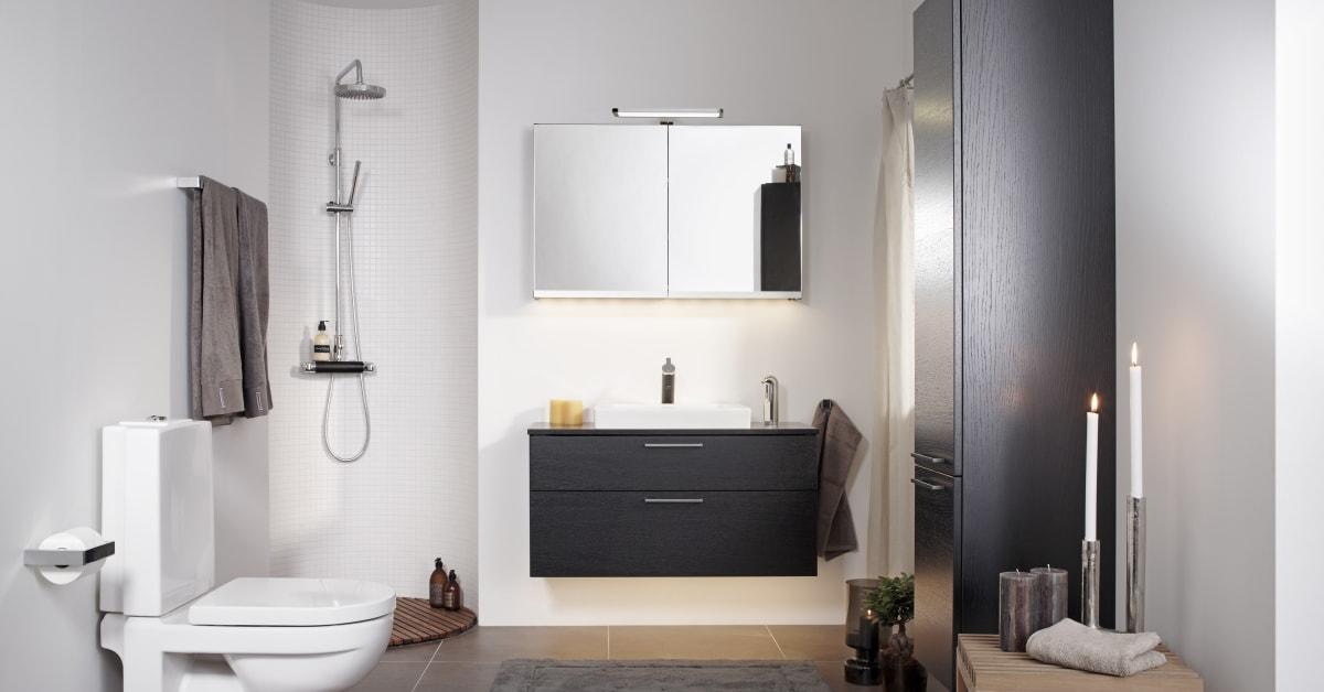 rets nyhet badrumsm bler i serien artic villeroy boch gustavsberg. Black Bedroom Furniture Sets. Home Design Ideas