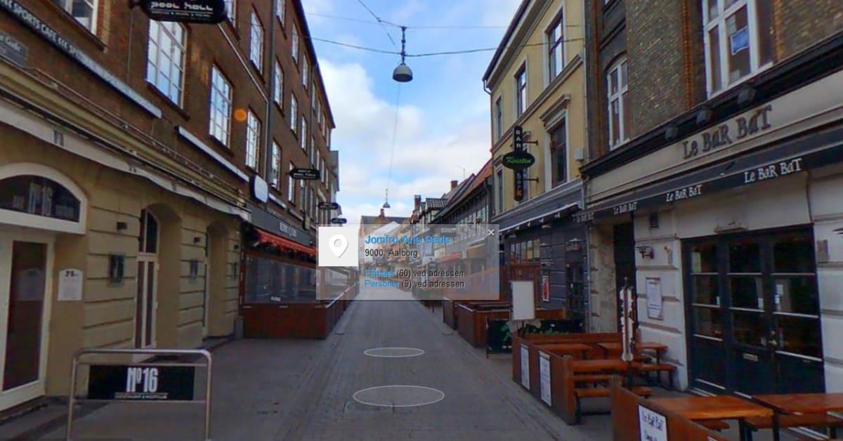 Gadefotos Af Aalborg Jomfru Ane Gade Eniro Danmark