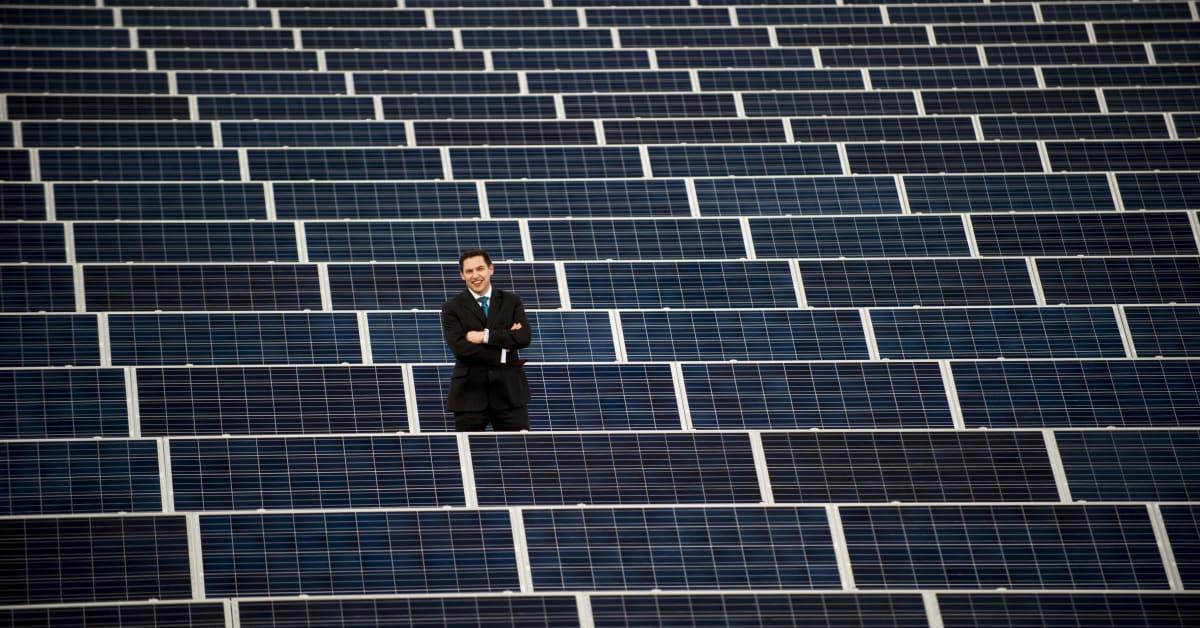 Major Investment In Solar Panels Makes Environmental