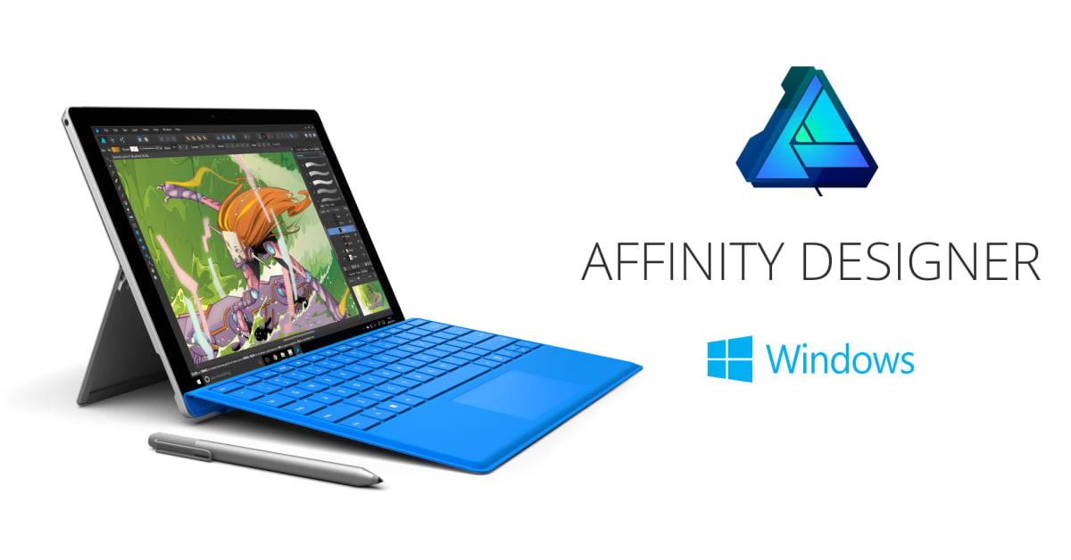 affinity designer trial