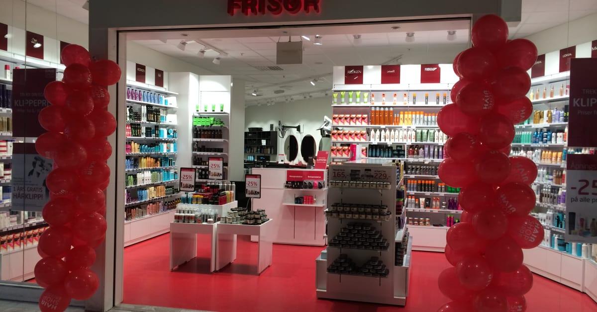 NY FRISØRSALONG PÅ STRANDTORGET PÅ LILLEHAMMER - HairShop ...