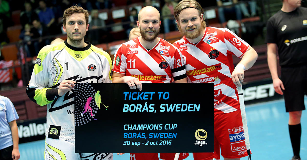 Champions cup innebandy borås