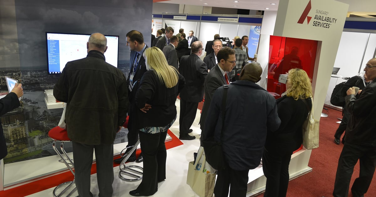 Sungard Exhibition Stand Alone : Sungard availability services become a platinum sponsor of