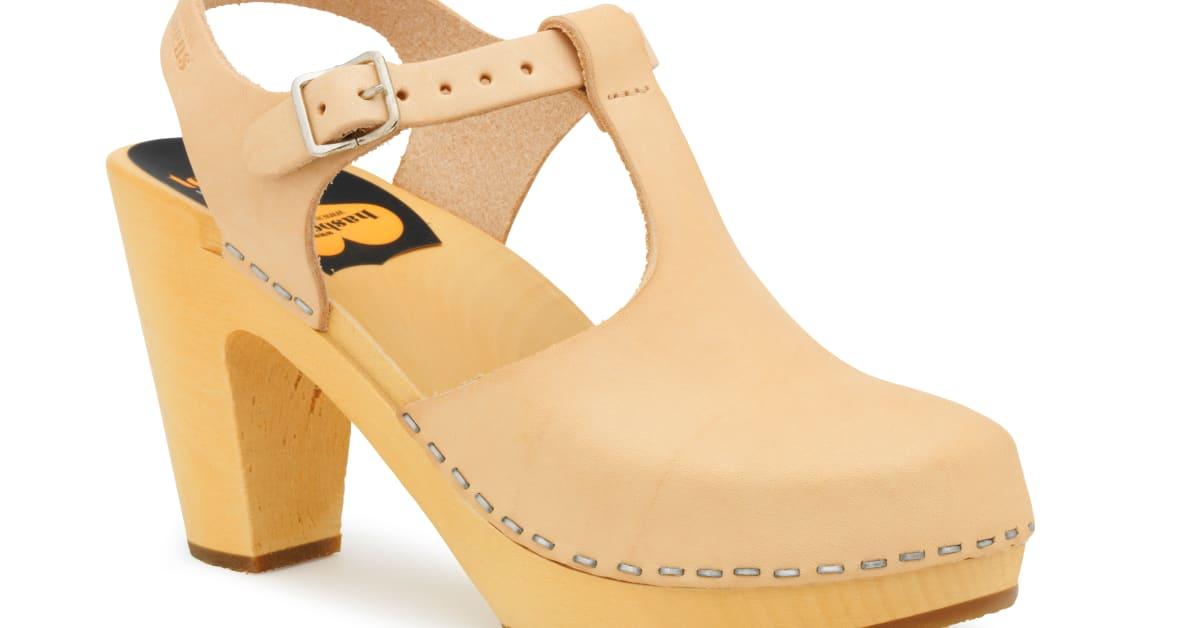Swedish Hasbeen T Strap Sky High Shoe