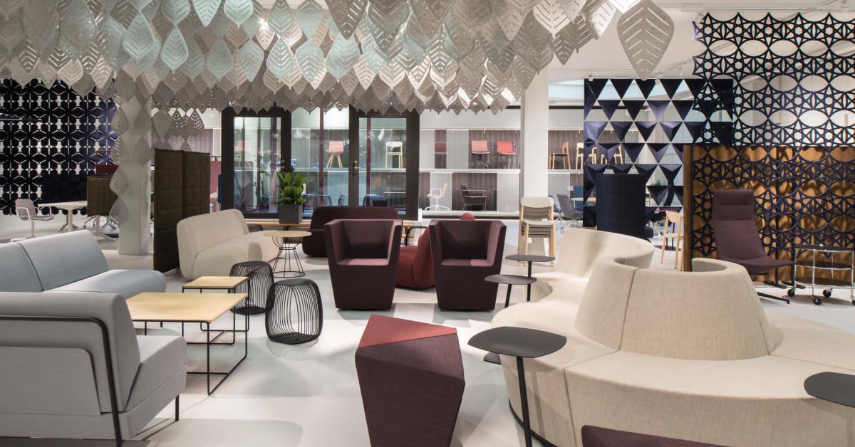 Lammhults och Abstracta inviger nytt showroom i Stockholm Lammhults Möbel AB