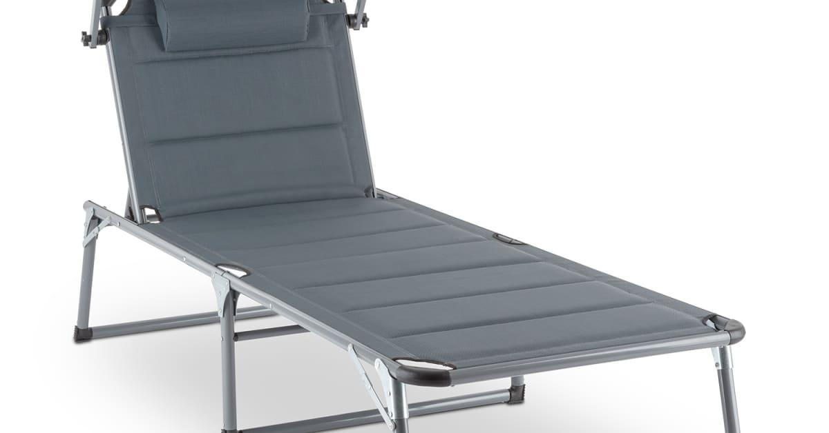 blumfeldt amalfi noble gray sonnenliege 10030022 chal tec gmbh. Black Bedroom Furniture Sets. Home Design Ideas
