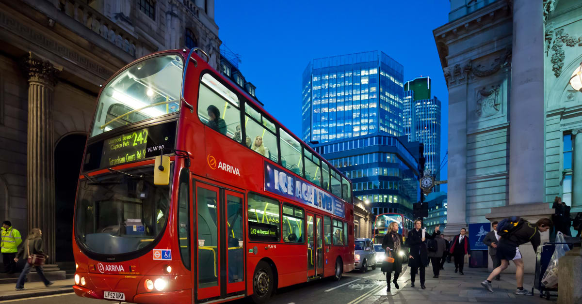 Hogia Connects London Buses For The Future Hogia