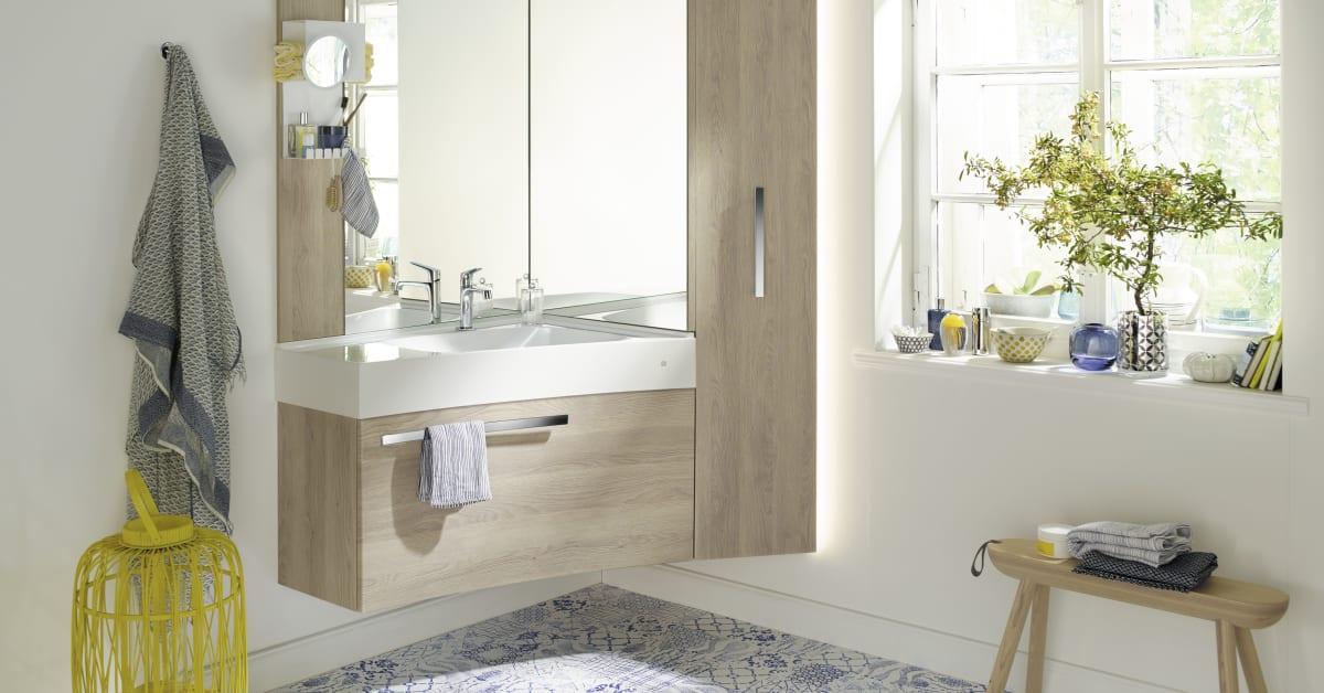 sys30 eckl sung bringt leben in die ecke burgbad ag. Black Bedroom Furniture Sets. Home Design Ideas
