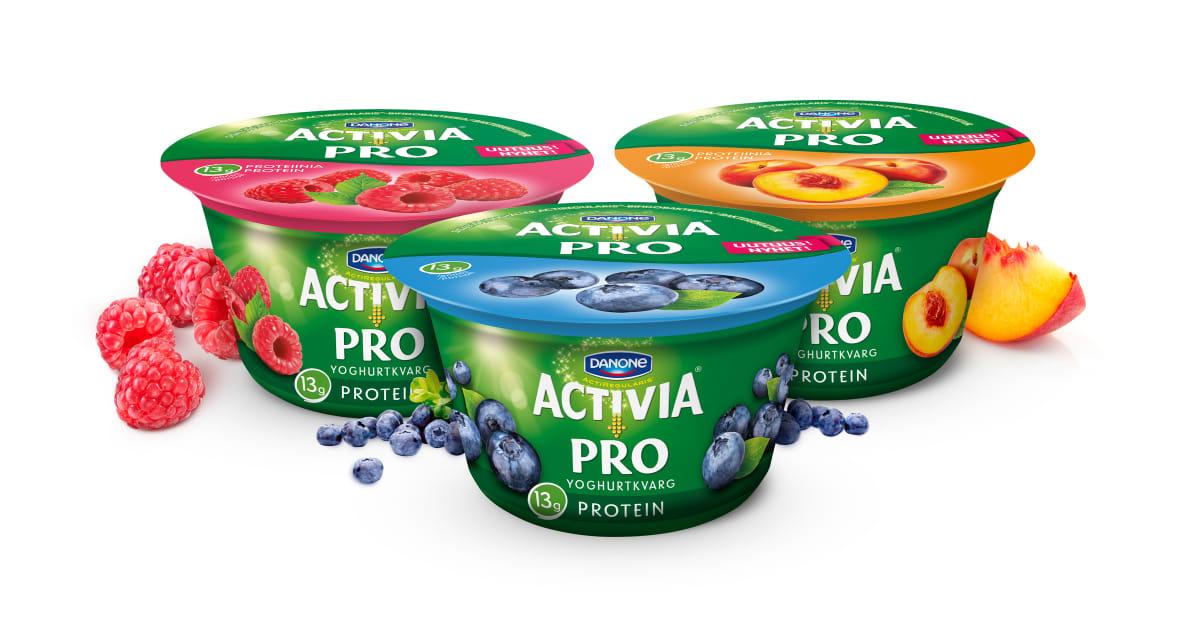 activia yoghurt innehåll